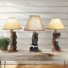 black bear table lamps