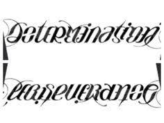 beautiful imperfect ambigram tattoo idea u003c3 tattoo ideas