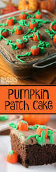 Halloween Pumpkin Cake Ideas Pumpkin Patch Cake Pumpkin Patch Cake Chocolate Frosting And