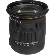 sigma 17 50mm f 2 8 ex dc os hsm zoom lens for canon 583101 b u0026h