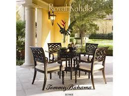 Tommy Bahama Dining Room Furniture Tommy Bahama Home Royal Kahala Quick Ship Rattan U0026 Leather Kahala