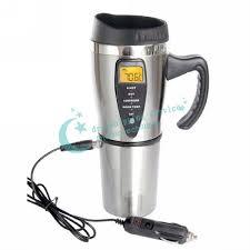 heated coffee mug 450ml portabe electric cup heated coffee mug auto intelligent