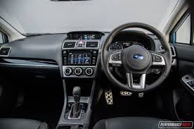 subaru xv interior 2017 2017 subaru xv 2 0i s review video performancedrive