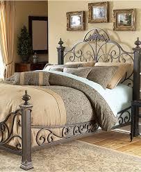 Iron Bed Frames King Manchester Gilded Slate King Bed Metal Bed Frame Beds