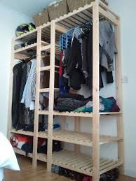 100 diy wardrobe plans pax utilize the narrow space to make