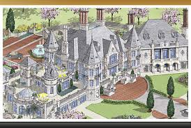 showcase european castle custom luxury castle home european