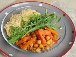 midi en recette de cuisine midi cuisine carottes et pois chiches caramélisés au sirop d érable