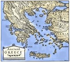blank map of ancient greece greece the ancient web