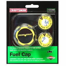 craftsman fresh start fuel cap and 2 capsules shop your way