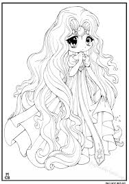 anime coloring pages free magic color book 10