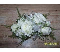 white corsages for prom prom corsages boutonnieres delivery voorhees nj nature s gift
