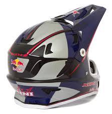 red bull motocross helmets kini red bull downhill mtb helmet mtb silver blue 2016 maciag