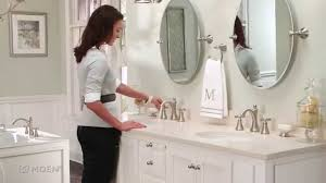 Moen Bathroom Faucet by Wynford Widespread Bathroom Faucet Moen Features Spotlight Youtube