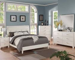 Contemporary Wooden Bedroom Furniture Contemporary Cream Bedroom Set Tyler By Acme Furniture Ac22540set