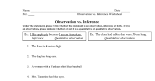 inference and observation worksheet doc google docs