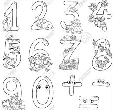 printable 123 coloring pages for preschoolers color zini