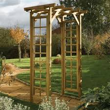 rowlinson square top wooden garden arch what shed