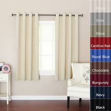 Eclipse Alexis Blackout Window Curtain Panel Sheer White Cotton Curtains Walmart Com Only At Mainstays