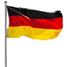 De Flag Flag Pole Aluminium Flagpole 21ft 6 50m Alu Mast German Flag