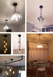 Hanging Light Fixtures From Ceiling 5 Led Light Hanging Pendants Ceiling Fixture 5 Bulbs