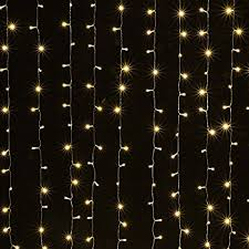 white string lights curtain lights agptek 9 8ft x 9 8ft solar power driver