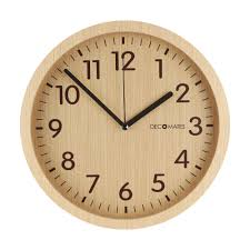 gorgeous modern wood wall clock 148 infinity contemporary wooden