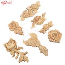 Kitchen Cabinet Appliques Online Get Cheap Wood Appliques Aliexpress Com Alibaba Group