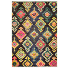 Multi Coloured Rug Uk Moroccan Patterned Colourful Hand Carved Rug U2013 Pasx Uk