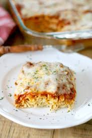 easy baked spaghetti spasagna the country cook