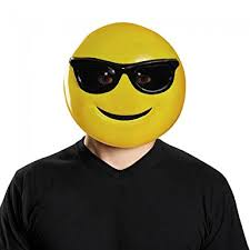 emoji mask costume accessory clothing