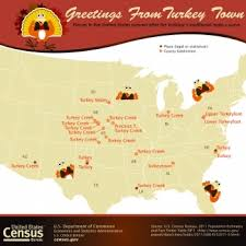 census bureau releases key statistics in honor of thanksgiving and