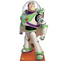 buy disney toy story buzz lightyear sized cardboard cutout