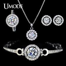 ring charm bracelet images Umode nice ladies jewelry set including charm bracelet cute cz jpg