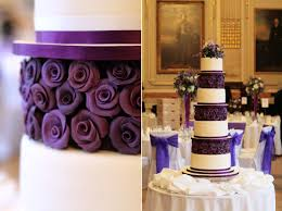 wedding cake purple rose purple roses wedding cake cakecentral