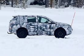 land rover snow baby land rover discovery spied 1 auto express