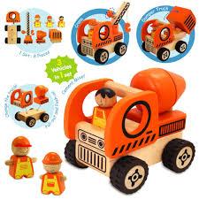 wooden toys brisbane i u0027m toy construction vehicle set