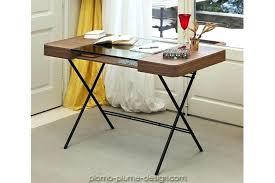 bureau plateau en verre plateau verre trempac bureau bureau plaque de verre bureau cosimo
