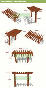 Prefab Pergola Kits by Prefabricated Pavilion Waterprood Plastic Composite Prefab Pergola