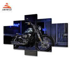 harley home decor online get cheap harley davidson posters aliexpress com alibaba