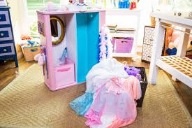 turning your booksheld into a dress up closet home u0026 family