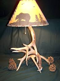Antler Table Lamp Antler Table Lamps Oregonuforeview Com