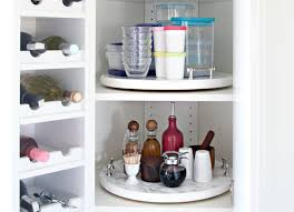 diy lazy susan cabinet storage how to organize your kitchen 21