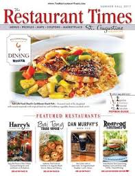 grille d a ation cuisine the restaurant times st augustine summer 2017 by publishing