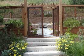 san diego gates and fences landscape contemporary with deer fence