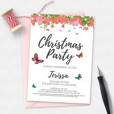 holiday party invitation template invitation templates