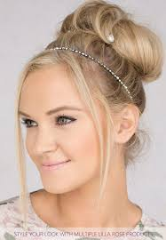 plating hairstyles 94 best lilla rose hairstyles with headbands images on pinterest