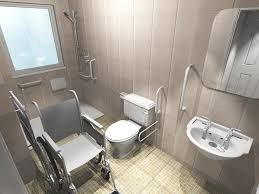 accessible bathroom design ideas handicap accessible bathroom designs 16 wheelchair with