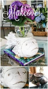 366 best our southern home blog images on pinterest thrift carved fish vase makeover southern homesthrift