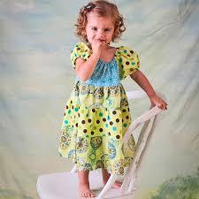 peasant dress pattern baby toddler sewing pattern pdf