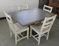 Distressed Dining Room Tables by Furniture Interesting L Shaped Dark Wood Kitchen Nook Nice Dark